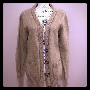 🍁 Super cozy cardigan beige sweater
